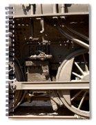 Historic Trains Spiral Notebook