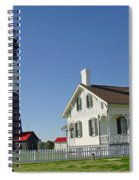 Historic Tybee Island Lighthouse II Spiral Notebook
