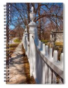 Historic Vermont Fence Spiral Notebook