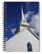 Historic White Church Spiral Notebook