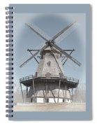 Historic Windmill Spiral Notebook