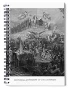 Historical Monument Of Our Country Spiral Notebook