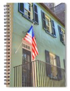 Historical Patriot Spiral Notebook