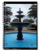 Historical Saint Marys Water Fountain Spiral Notebook