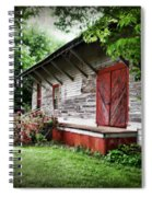 Historical Train Station In Belle Mina Alabama Spiral Notebook