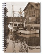 Historical Waterfront  Spiral Notebook
