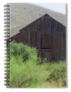 History In A Barn Spiral Notebook