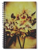 History In Bloom Spiral Notebook