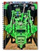Hitch A Deere  Spiral Notebook