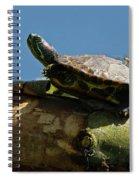 Hitchin' A Ride Spiral Notebook