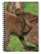Hitching A Ride Spiral Notebook