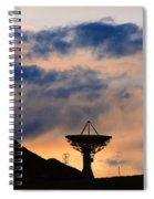Hitech Sunset Spiral Notebook