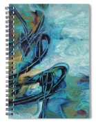 Hither And Thither Spiral Notebook