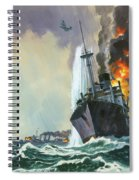 Hk Thirty Three  The Deadly Penguin Spiral Notebook