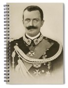 H.m. Victor Emmanuel IIi Of Italy Spiral Notebook