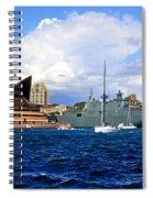 Hmas Adelaide Helps Sydney Celebrate Spiral Notebook