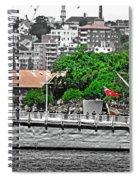 Hmas Sydney In Sydney Spiral Notebook