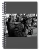 H'mong Woman Spiral Notebook