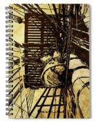 Hms Bounty - Up The Mast - 2 Spiral Notebook