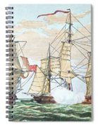 Hms Shannon Vs The American Chesapeake Spiral Notebook