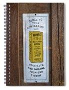Hobo Spiral Notebook