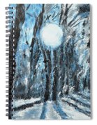 Hochleite In January Spiral Notebook