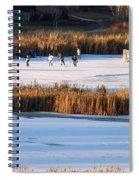 Hockey Game Spiral Notebook