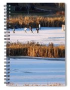 Hockey Game Spiral Notebook