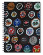Hockey Pucks Spiral Notebook