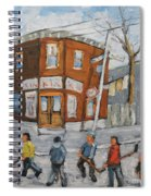 Hockey Town Montreal Created By Prankearts Spiral Notebook