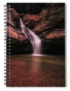 Hocking Hills Cedar Falls Long Exposure Spiral Notebook