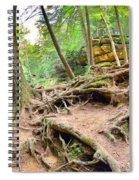Hocking Hills Ohio Old Man's Gorge Trail Spiral Notebook