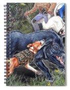 Hog Hammock Earrings Spiral Notebook