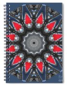 Valkyrie Kaleidoscope 2 Spiral Notebook