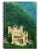 Hohenschwangau Castle 1 Spiral Notebook