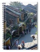Hoi An Rooftops 01 Spiral Notebook