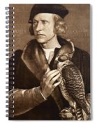 Holbein: Falconer, 1533 Spiral Notebook
