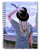 Hold Onto Your Hat Spiral Notebook