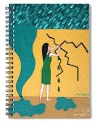 Holding Back The Flood Spiral Notebook