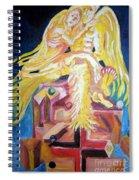 Holding Her Up Spiral Notebook