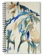 Holding On     War Ponies Spiral Notebook