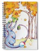 Holding Onto Summer Spiral Notebook