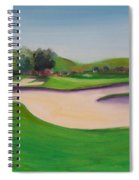 Hole 10 Pastures Of Heaven Spiral Notebook