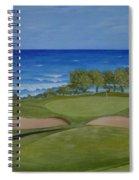 Hole 17 - Wailua Golf Course On Kauai Spiral Notebook