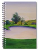 Hole 2 Nuttings Creek Spiral Notebook