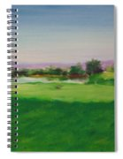Hole 8 Mission Green Spiral Notebook