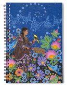Hole In The Sky's Daughter Spiral Notebook