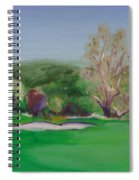Hole12 Ohlone Ridge Spiral Notebook
