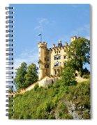 Holenschwangau Castle 5 Spiral Notebook
