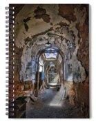 Holes In The Walls Spiral Notebook